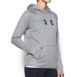 Under Armour Storm Gray Heather/Neon Green Hoodie